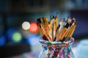 Creativity - paint brush