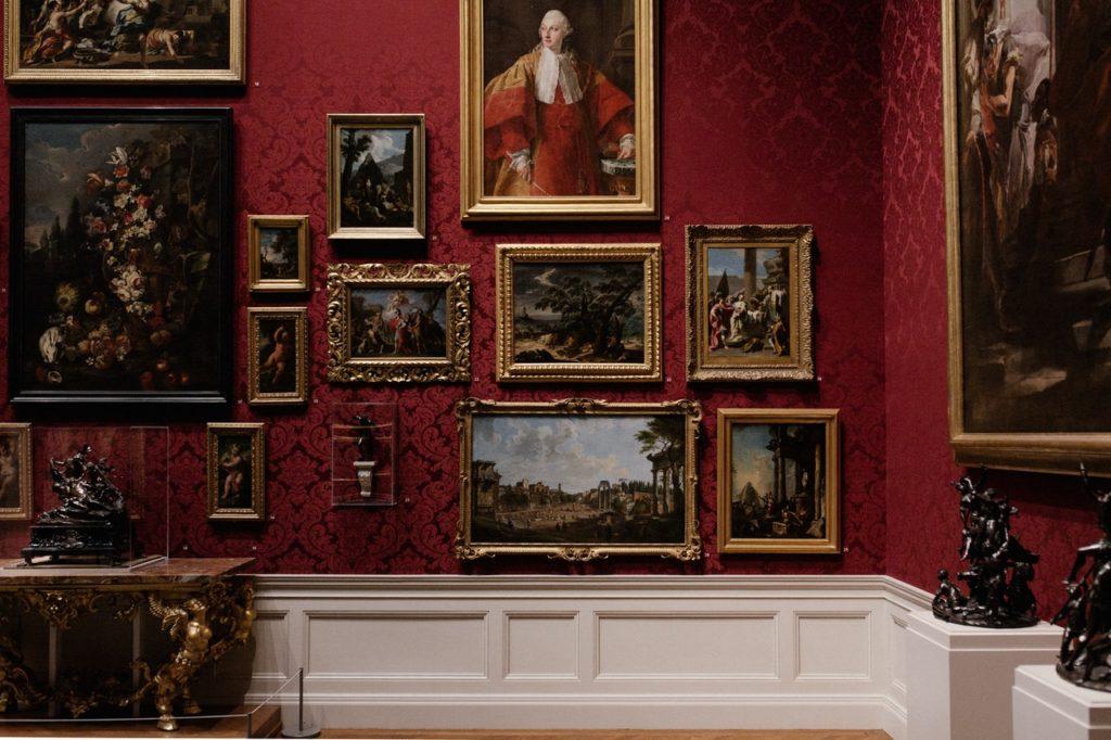 classical portrait paintings